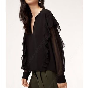 ⭐️Aritzia Wilfred Lilas blouse♥️ New listing♥️